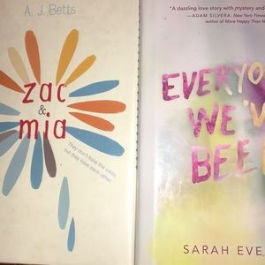 Two Y/A novels,